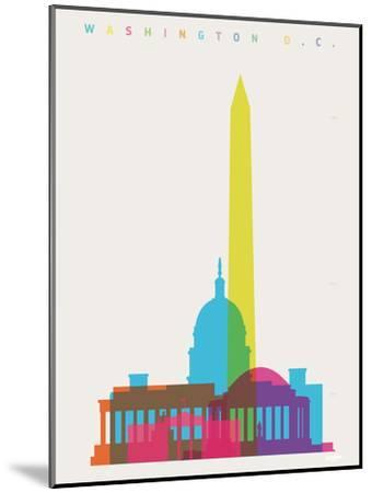 Washington DC-Yoni Alter-Mounted Giclee Print