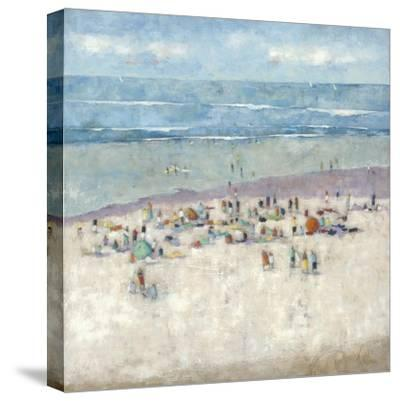 Beach 1-Wendy Wooden-Stretched Canvas Print
