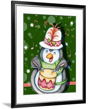 Penguin Drum-Valarie Wade-Framed Giclee Print