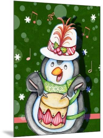 Penguin Drum-Valarie Wade-Mounted Giclee Print