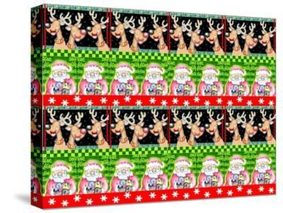 Christmas Pattern 1-Valarie Wade-Stretched Canvas Print