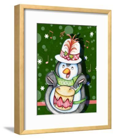 Penguin Drum-Valarie Wade-Framed Premium Giclee Print