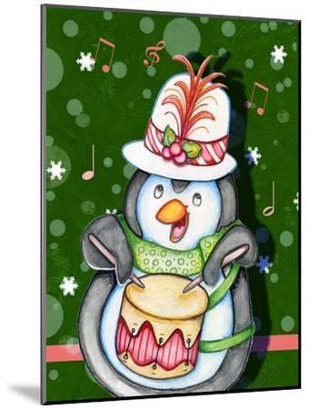 Penguin Drum-Valarie Wade-Mounted Premium Giclee Print