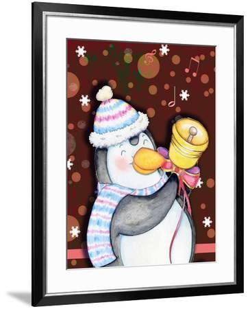 Penguin Bell-Valarie Wade-Framed Giclee Print