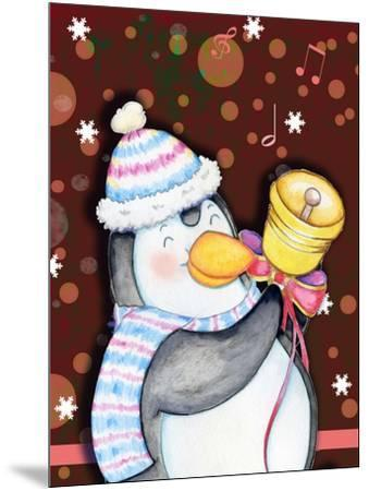 Penguin Bell-Valarie Wade-Mounted Giclee Print