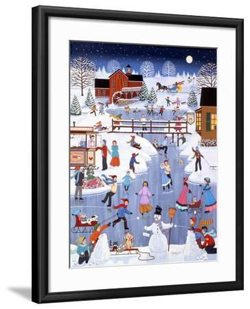 Caught in the Middle-Sheila Lee-Framed Giclee Print