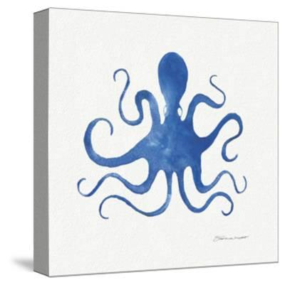Octopus in Blue-Stephanie Marrott-Stretched Canvas Print