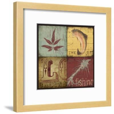 Lodge 4 Patch IV-Stephanie Marrott-Framed Giclee Print