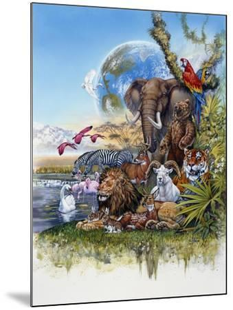 Peace on Earth-Tim Knepp-Mounted Giclee Print