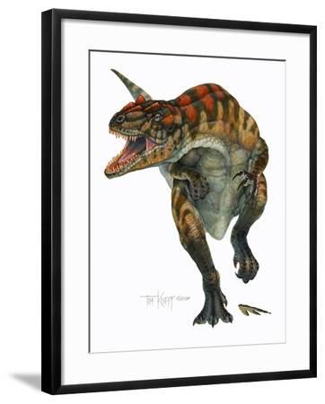 Allosaurus-Tim Knepp-Framed Giclee Print