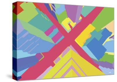 Intersection 3-Yoni Alter-Stretched Canvas Print