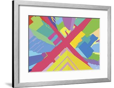Intersection 3-Yoni Alter-Framed Giclee Print