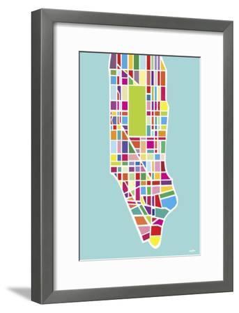 Manhattan Island-Yoni Alter-Framed Giclee Print