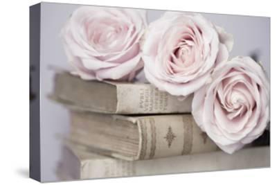 Vintage Roses-Symposium Design-Stretched Canvas Print