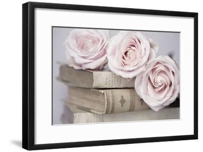 Vintage Roses-Symposium Design-Framed Giclee Print