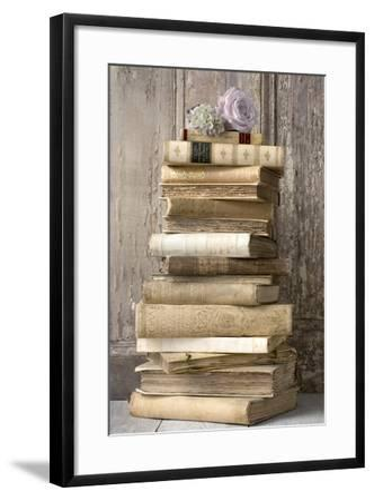 Books I-Symposium Design-Framed Giclee Print