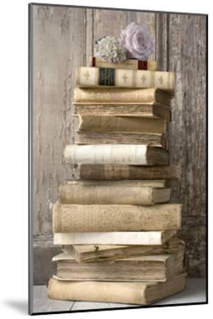 Books I-Symposium Design-Mounted Giclee Print