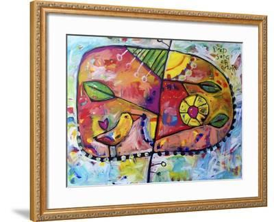 The Deep Song of Nature-Sara Catena-Framed Giclee Print