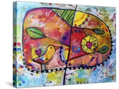 The Deep Song of Nature-Sara Catena-Stretched Canvas Print