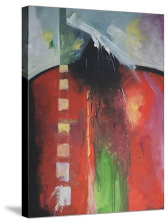 Steadman Encounter-Tim Nyberg-Stretched Canvas Print