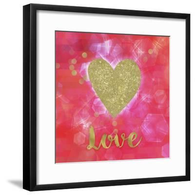 Glitter Love-Tina Lavoie-Framed Giclee Print