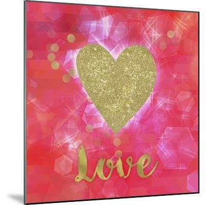 Glitter Love-Tina Lavoie-Mounted Giclee Print