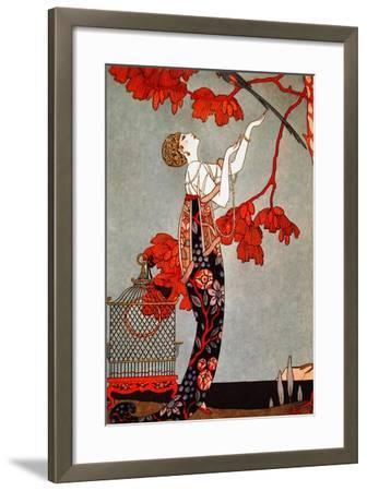 Barbier 2-Vintage Apple Collection-Framed Giclee Print