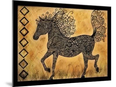 Horse-Tina Nichols-Mounted Giclee Print