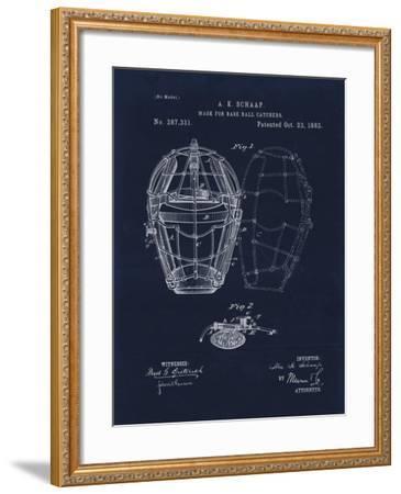 Mask for Baseball Catcher-Tina Lavoie-Framed Giclee Print