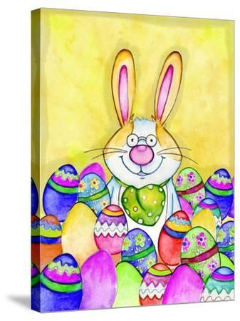 Easter Bunny-Valarie Wade-Stretched Canvas Print