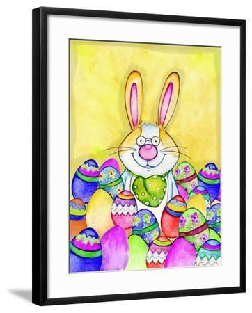 Easter Bunny-Valarie Wade-Framed Giclee Print