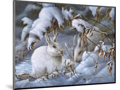 Winter Hares-Wanda Mumm-Mounted Giclee Print
