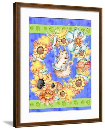 Swing into Fall-Valarie Wade-Framed Giclee Print