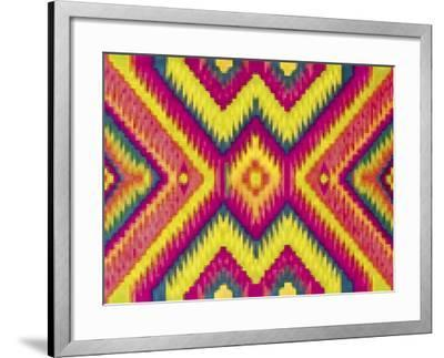 Bright Pattern-Whoartnow-Framed Giclee Print