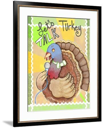 Talking Turkey-Valarie Wade-Framed Giclee Print
