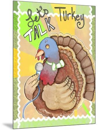 Talking Turkey-Valarie Wade-Mounted Giclee Print