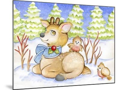Winter Friends-Valarie Wade-Mounted Giclee Print