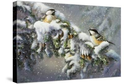 Winter Companions-Wanda Mumm-Stretched Canvas Print