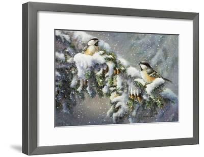 Winter Companions-Wanda Mumm-Framed Giclee Print