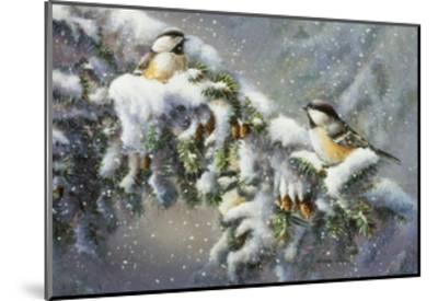 Winter Companions-Wanda Mumm-Mounted Giclee Print