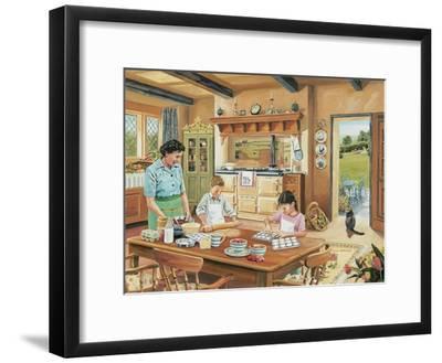 A Cottage Kitchen-Trevor Mitchell-Framed Giclee Print