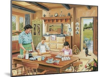 A Cottage Kitchen-Trevor Mitchell-Mounted Giclee Print
