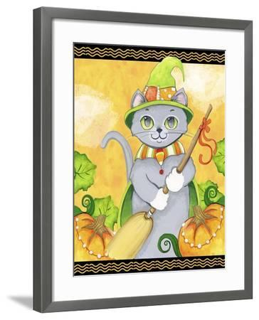 Witchy Cat-Valarie Wade-Framed Giclee Print
