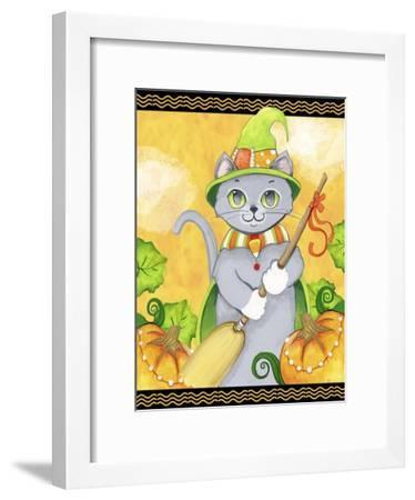 Witchy Cat-Valarie Wade-Framed Premium Giclee Print