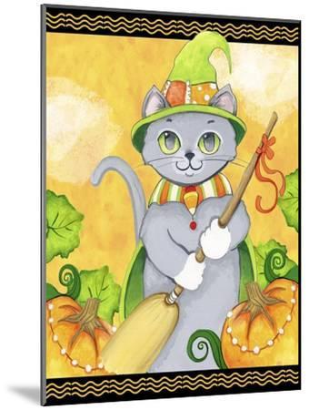 Witchy Cat-Valarie Wade-Mounted Premium Giclee Print