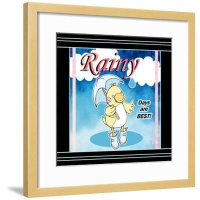 Rainy Days-Valarie Wade-Framed Premium Giclee Print
