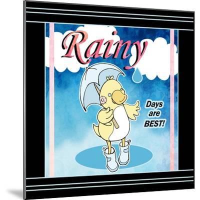 Rainy Days-Valarie Wade-Mounted Premium Giclee Print