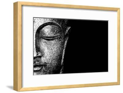Silver Budda-Whoartnow-Framed Giclee Print