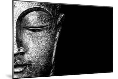 Silver Budda-Whoartnow-Mounted Giclee Print
