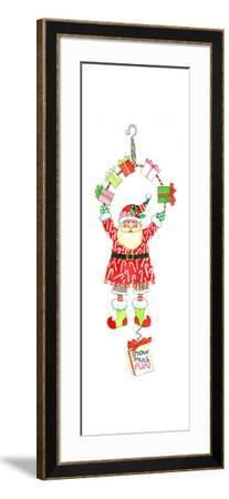Snow Much Fun Bouncie-Wendy Edelson-Framed Giclee Print